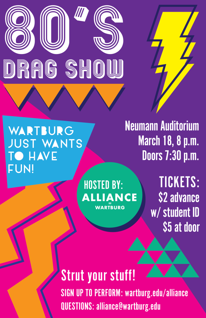 Drag Show 2017 Poster