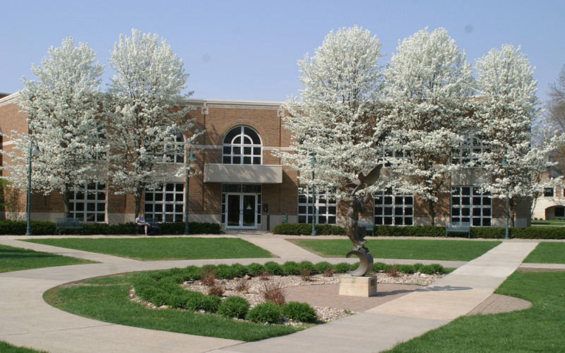 Fine Arts Center Exterior