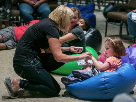 A Garden of Hope: Sensory worship service cultivates connections in Christ