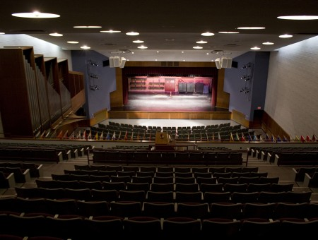 A Sound Investment: Neumann Auditorium acoustics revamped for venue versatility