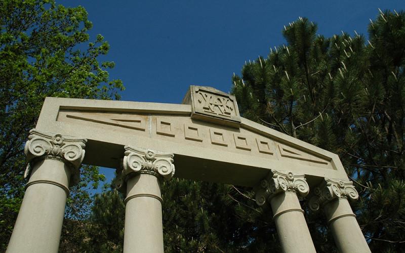 Wartburg Hall Pillars