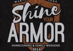Homecoming 2016 logo black