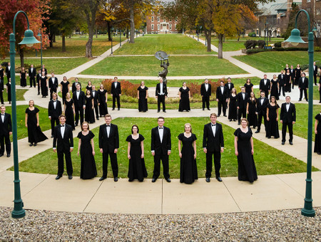 Choir sings at prestigious conference
