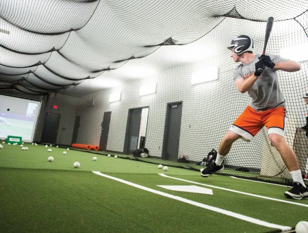 Double play: New pavilion improves experience for athletes, fans