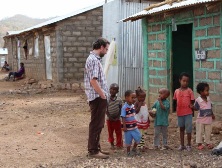 A caring heart: Bell helps refugee children in Africa find new homes