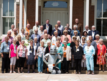 Wartburg College Class of '66 reunites, presents college with gift