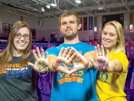 For the kids: Wartburg College Dance Marathon to sponsor room in new UI children's hospital