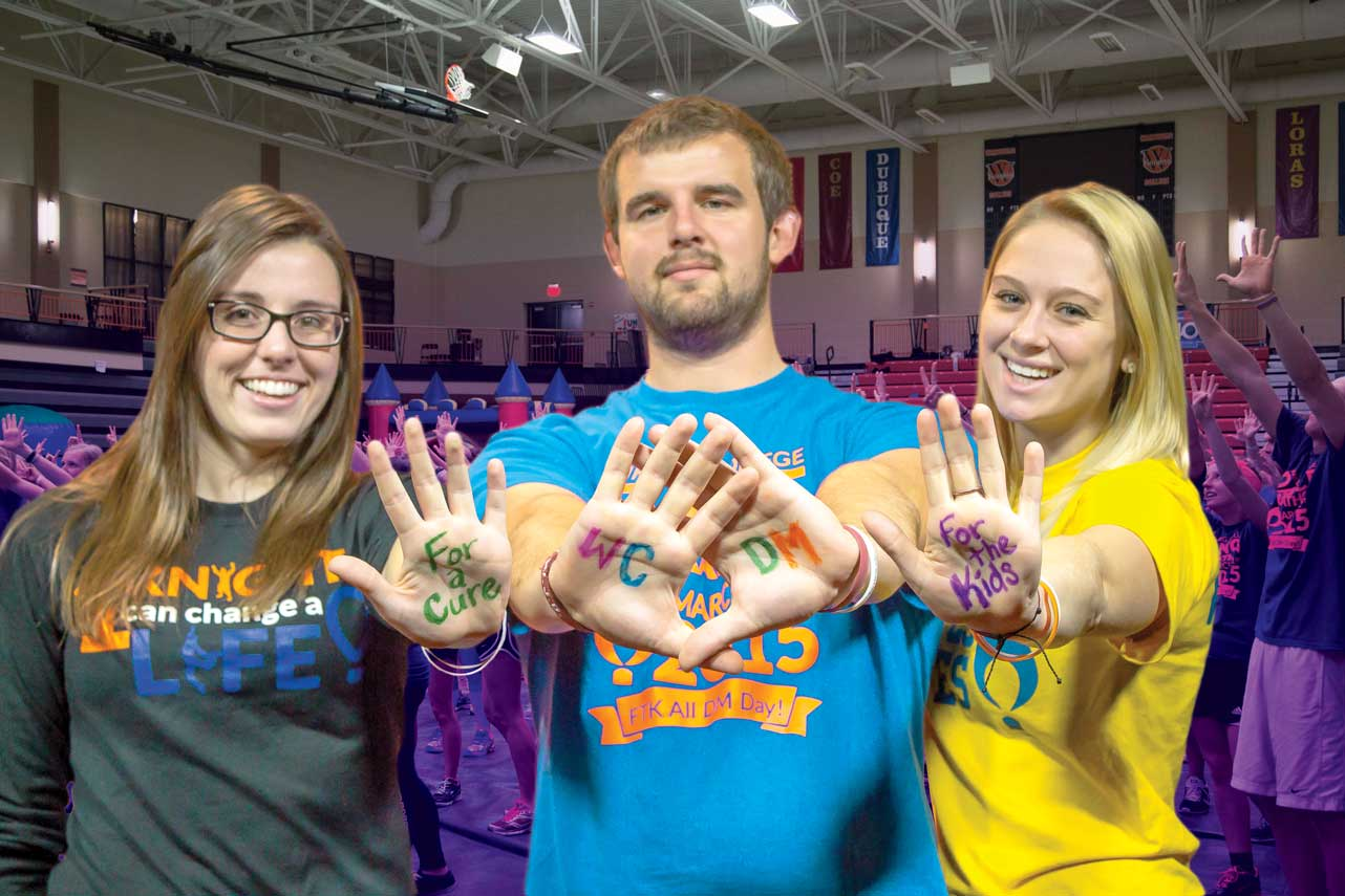 Dance Marathon 2016 executive leaders