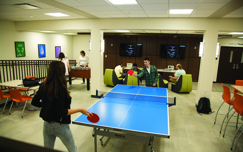 McCoy Living and Learning Center Lounge