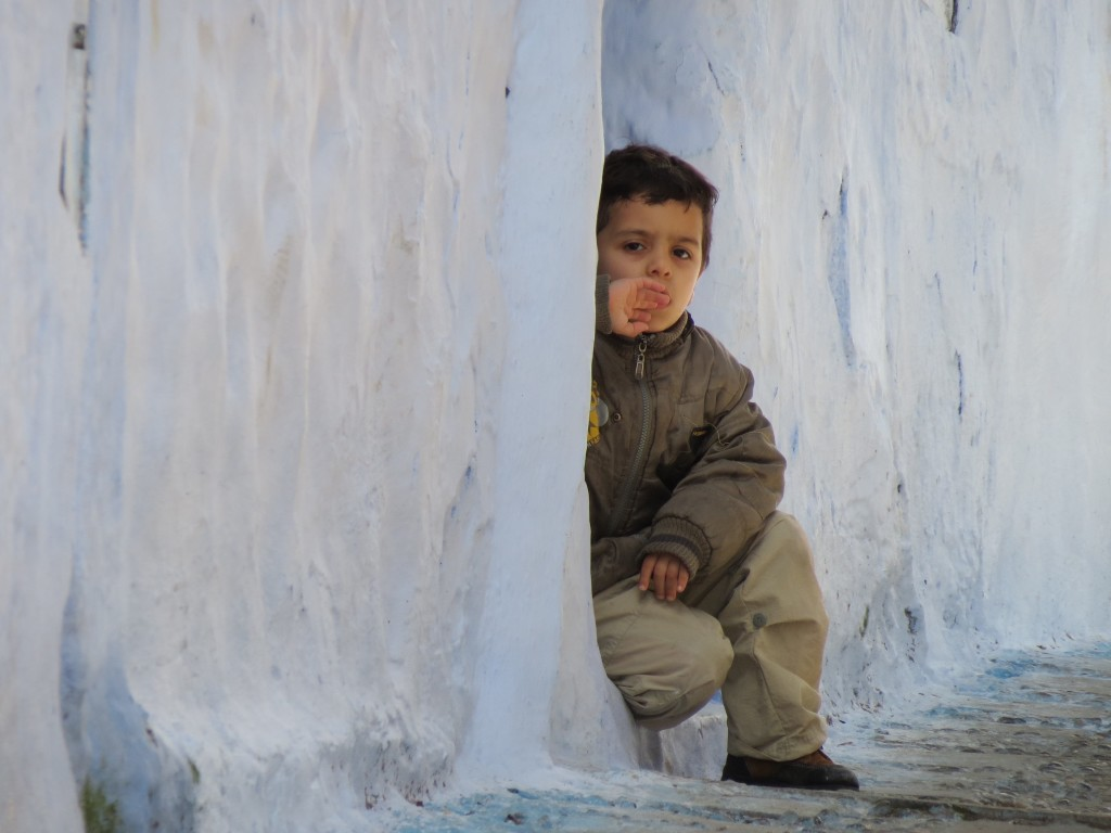 "Carly Kuhtz won first place in the college' Study Abroad Photo Contest with this photo titled ""Little Spectator."""