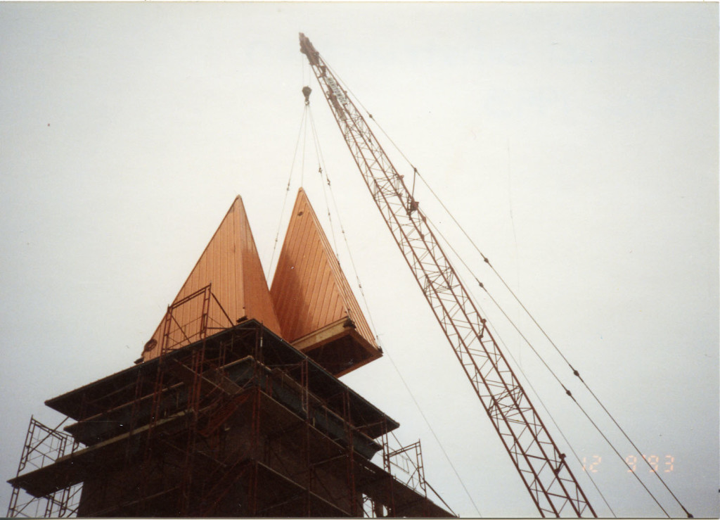 chapel construction December 1993