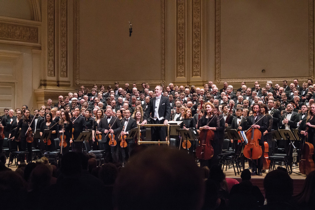 Lee Nelson, Ritterchor at Carnegie