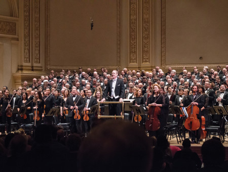 Peak performance: Nelson, Ritterchor perform at legendary Carnegie Hall