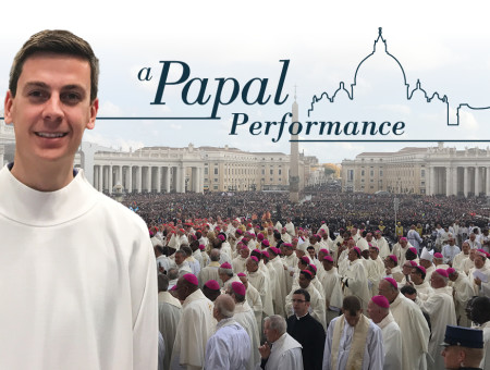 A papal performance: Carolan part of small choir that sang at Vatican celebrations