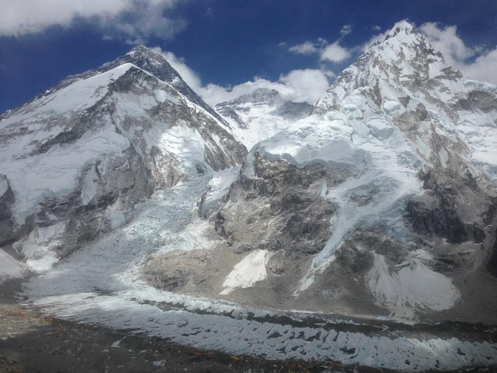 Jen Loeb Everest Route
