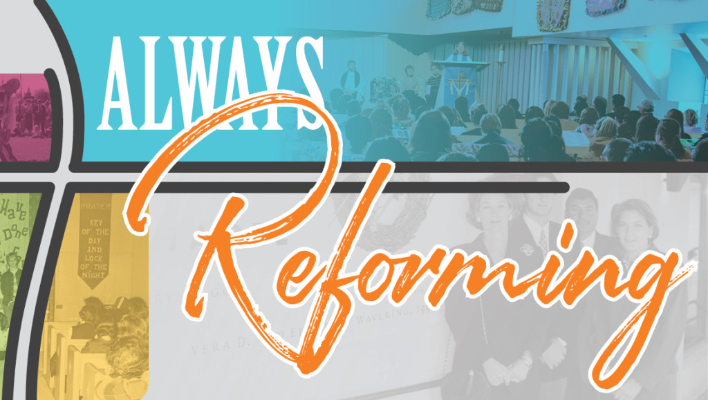 Always Reforming Magazine graphic