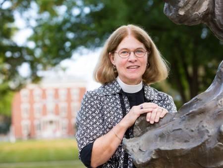 A new calling: Bouzard plans for retirement as she prepares to step down as dean of the chapel