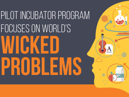 Pilot incubator program focuses on world's Wicked Problems