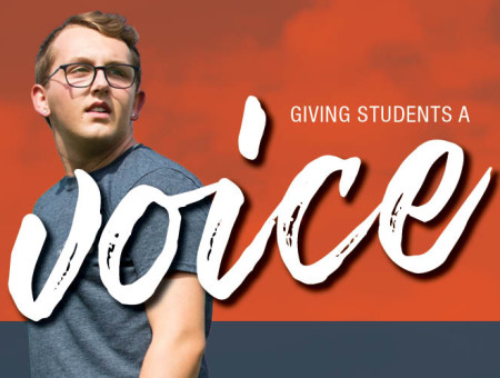 Giving students a voice: Coon continues to learn, grow nonprofit at Wartburg