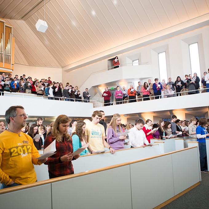 Chapel Ash Wednesday