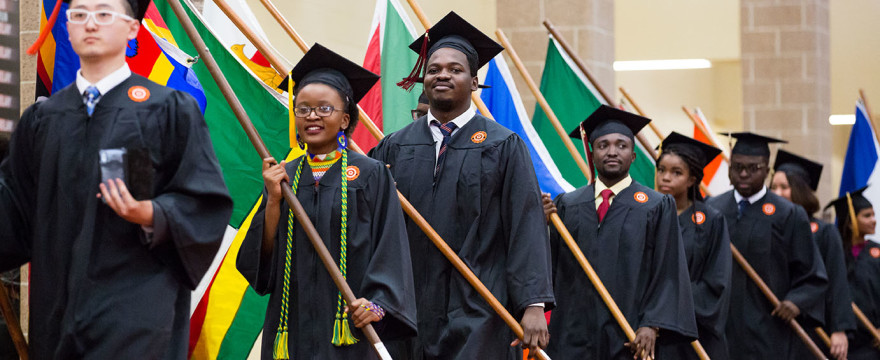 International Students - Commencement 2017