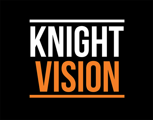 Knight Vision Stacked Black
