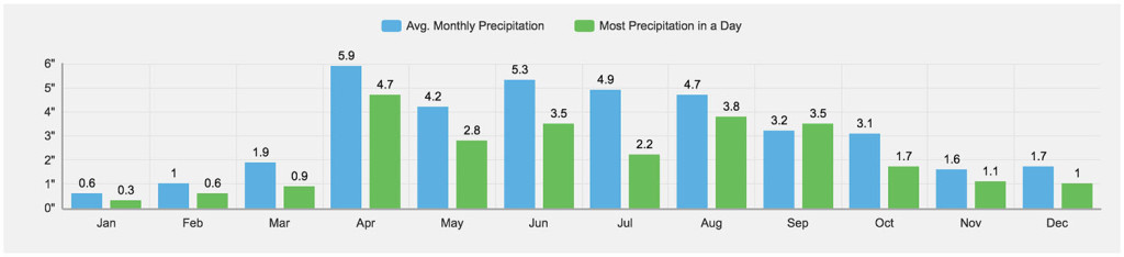 Average Precipitation