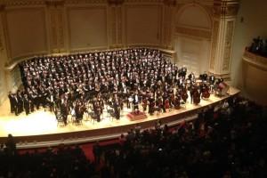 Ritterchor at Carnegie Hall