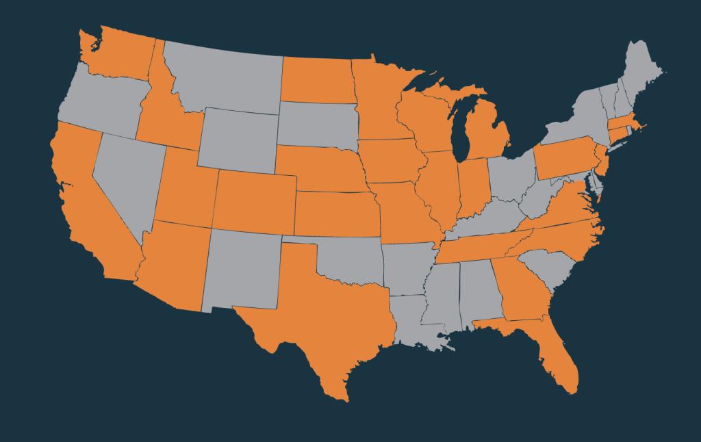 2019 Employer Map