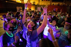 Dance Marathon Glow in the Dark Dancing