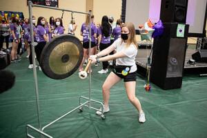 Dance Marathon Gong Ringing