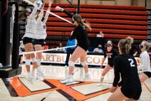Women's volleyball 2021 spike