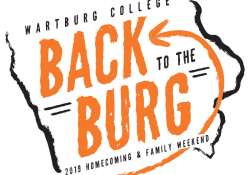 Back to the Burg Homecoming Logo