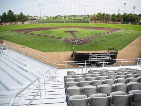 Wartburg names baseball stadium for Ray and Gracia Harms