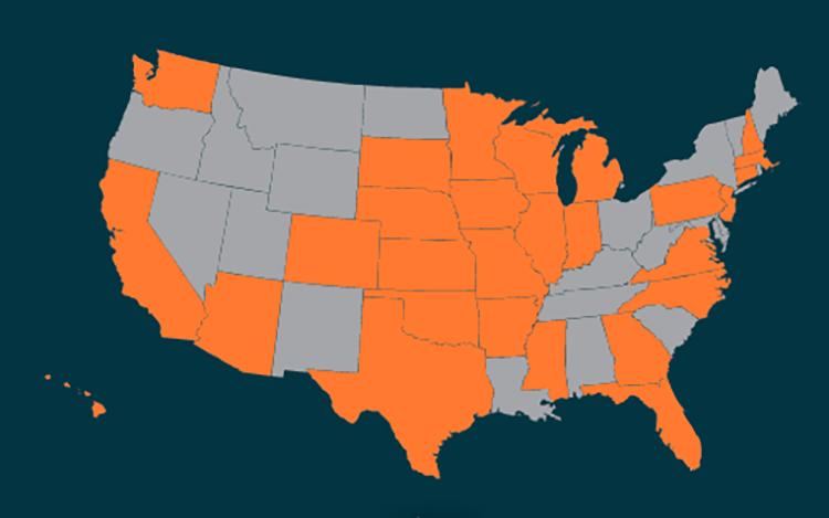 Employer, Grad School Locations