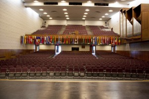 Neumann Auditorium Seating