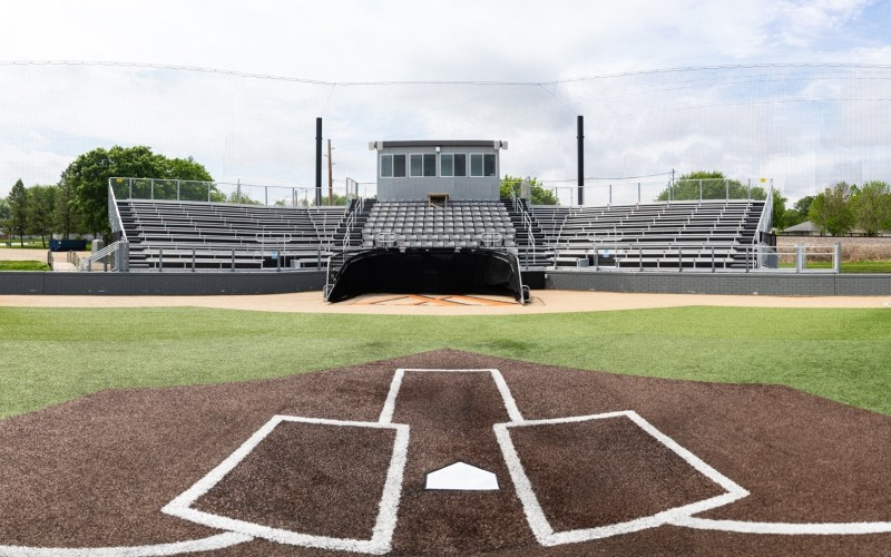 Baseball Stadium Home Plate