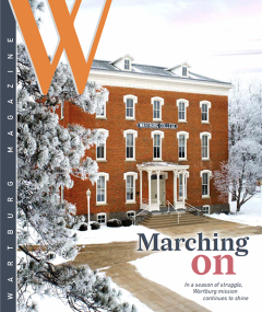 Winter 2021 Magazine Cover - Old Main