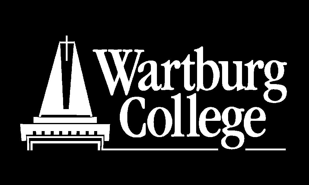 Wartburg Logo White