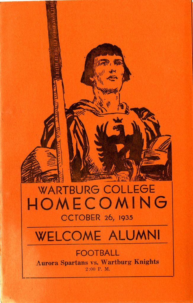 Knight History: 1935 Homecoming Program
