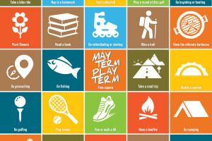 May Term challenge activities grid