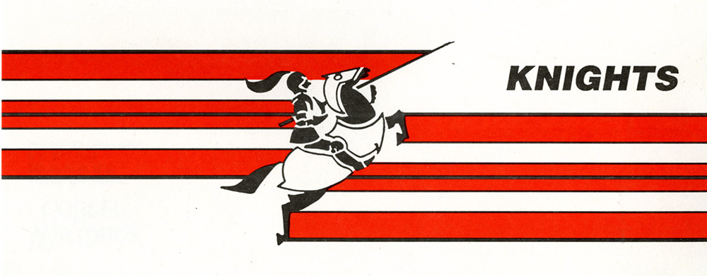 Knight History: 1992 Athletics Logo