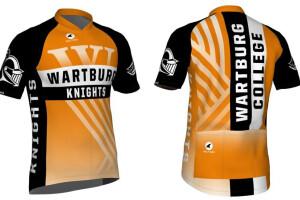 Wartburg bike jersey with sleeves