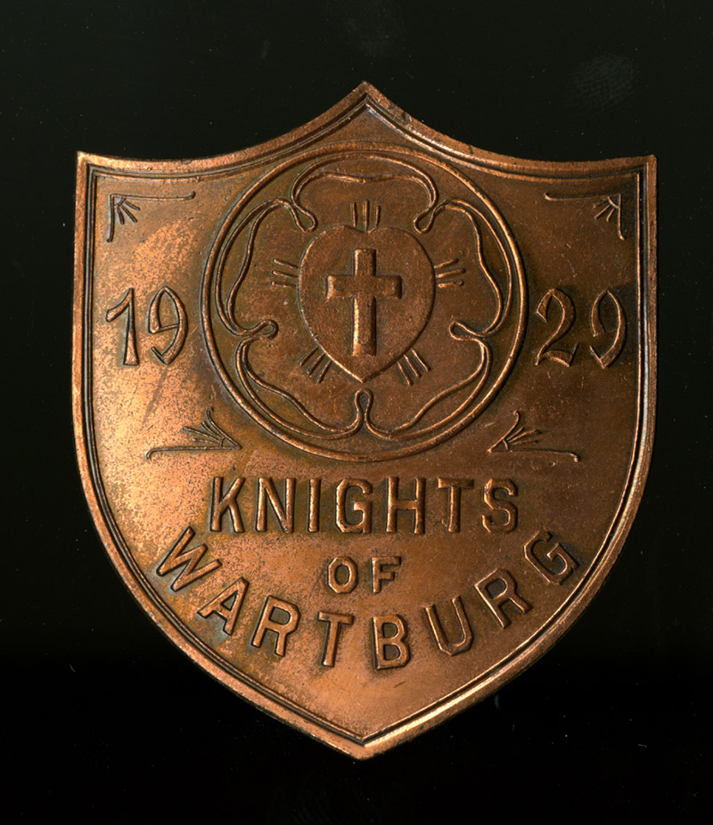 Knight History: Knights of Wartburg Button 1929