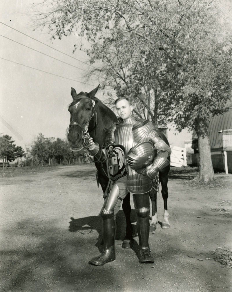 Knight History: Knight in armor