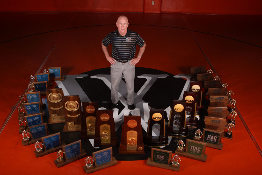 Jim Miller and Trophies