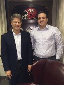 Nathan Welsch and Clark Hunt