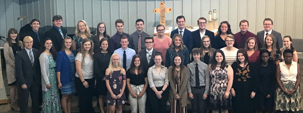 Phi Eta Sigma Class of 2019