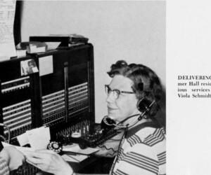 Centennial Hall - 1960s switchboard