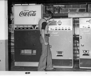 Coca Cola Machines - 1970s Centennial Hall